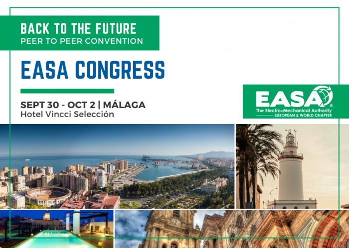 EASA E&W Chapter Convention   Sept 30 - Oct 2 2021, Málaga