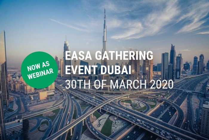EASA Dubai Event 2nd of March 2020